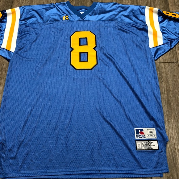 bbe75b37b VINTAGE TROY AIKMAN UCLA JERSEY RUSSELL ATHLETIC